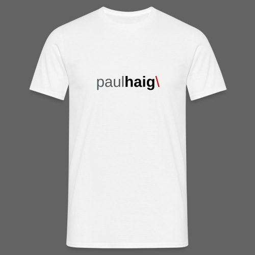 Paul Haig/ - Men's T-Shirt