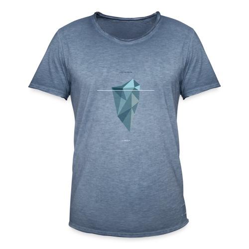 Sein & Schein - Männer Vintage T-Shirt
