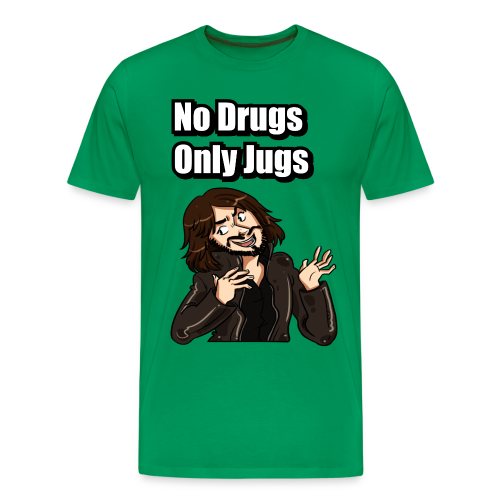 No Drugs Only Jugs - Men's Premium T-Shirt