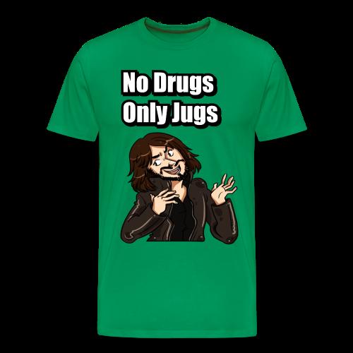 No Drugs Only Jugs - Men's Premium T-Shirt