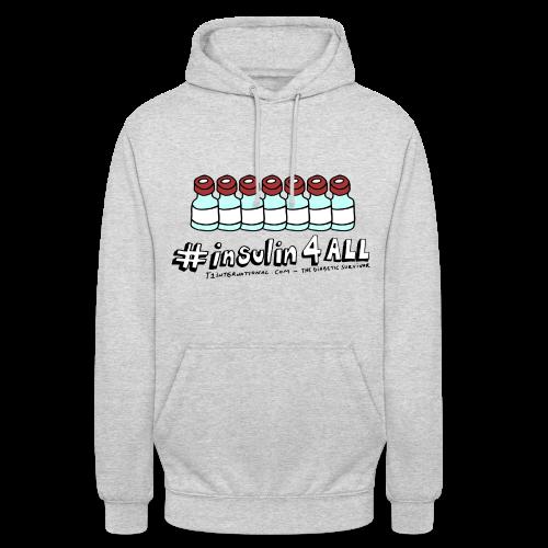 Unisex #insulin4all The Diabetic Survivor vials hoodie - Unisex Hoodie