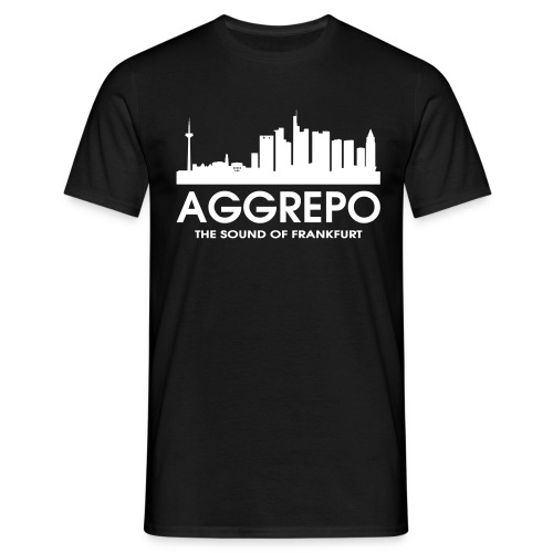 T-Shirt : Aggrepo - The Sound Of Frankfurt - Männer T-Shirt