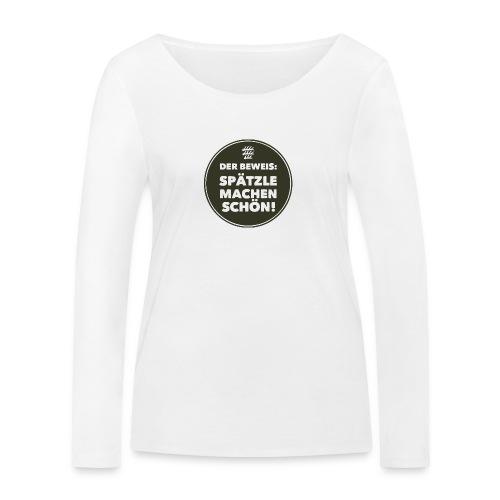 Beweis - Mädle - Frauen Bio-Langarmshirt von Stanley & Stella