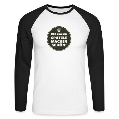 Beweis - Kerle - Männer Baseballshirt langarm