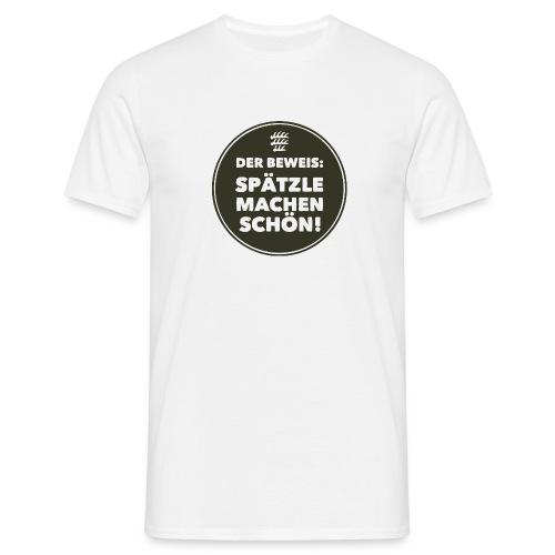 Beweis - Kerle - Männer T-Shirt