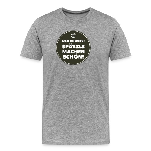 Beweis - Kerle - Männer Premium T-Shirt