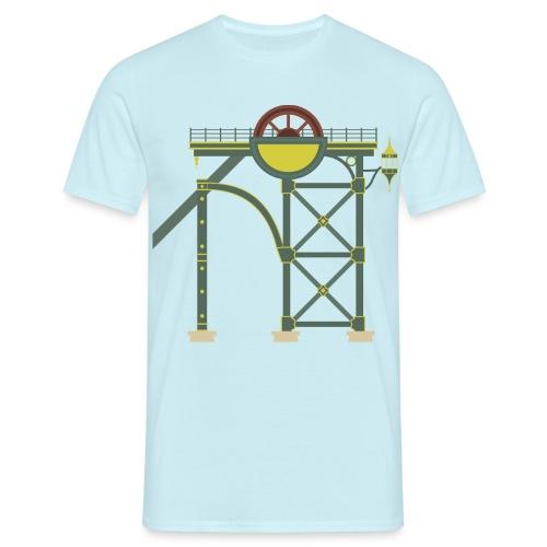 Themepark Mine Tower - Men's T-Shirt