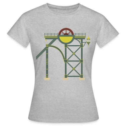 Themepark Mine Tower - Women's T-Shirt