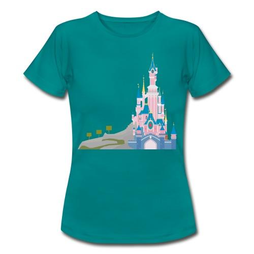 Themepark Castle - Women's T-Shirt
