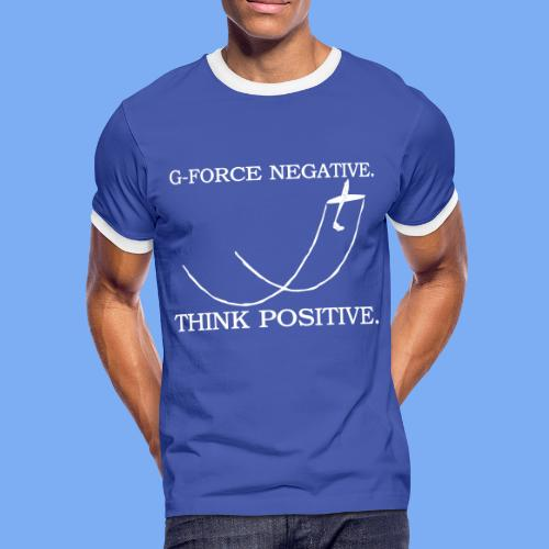 ASK21 aerobatic Segelkunstflug Segelflieger T-Shirt - Men's Ringer Shirt