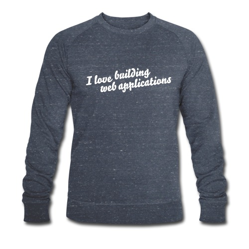 I love pullover - Männer Bio-Sweatshirt von Stanley & Stella