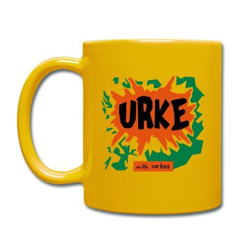 Kopp - Urke - Ensfarget kopp