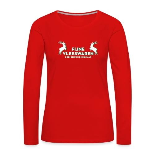 Dames shirt lange mouwen - Vrouwen Premium shirt met lange mouwen