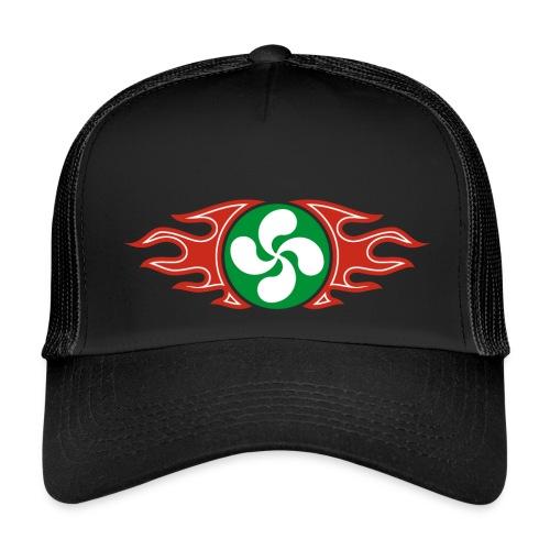 Basque Cross flaming - Trucker Cap