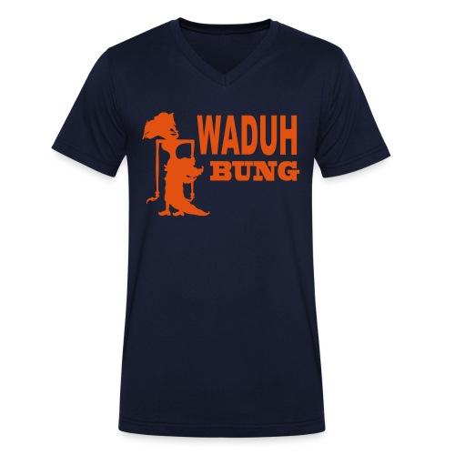 Indo shirt - Mannen bio T-shirt met V-hals van Stanley & Stella