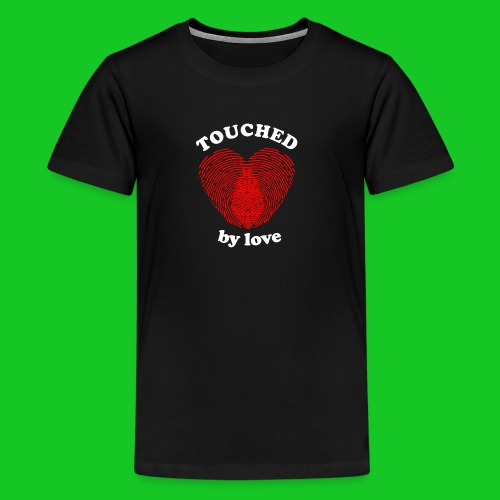 Touched by love heren t-shirt - Teenager Premium T-shirt