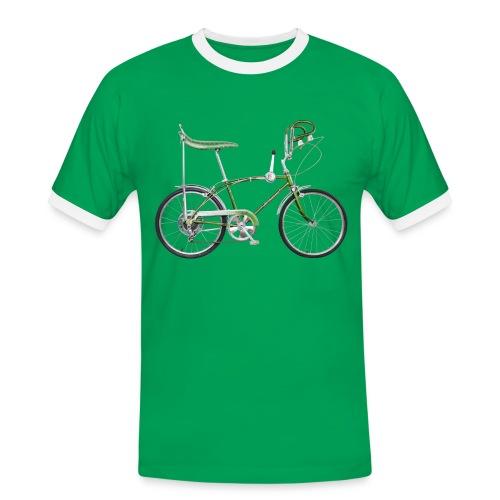 Bonanzarad - Männer Kontrast-T-Shirt