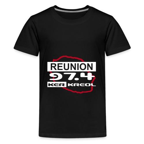 T-shirt Premium Ado 974 Ker Kreol - T-shirt Premium Ado