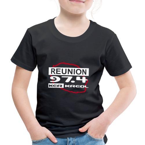 T-shirt Premium Enfant 974 Ker Kreol - T-shirt Premium Enfant
