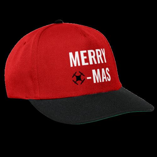 Merry Xmas | Snapback Cap mit Drohnen-Motiv zu Weihnachten - Snapback Cap