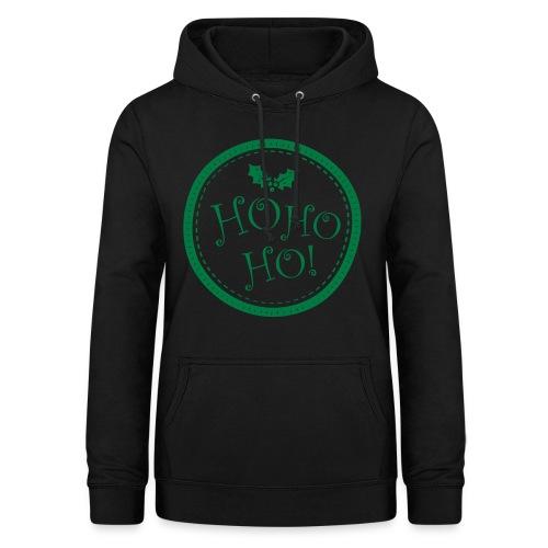 Ho ho ho Christmas Sweater pour Femme - Sweat à capuche Femme