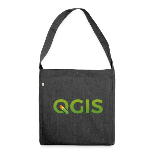Recycled Bag QGIS - Shoulder Bag made from recycled material
