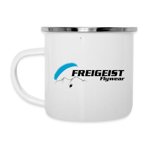 Freigeist Flywear - Gleitschirm Tasse - Emaille-Tasse