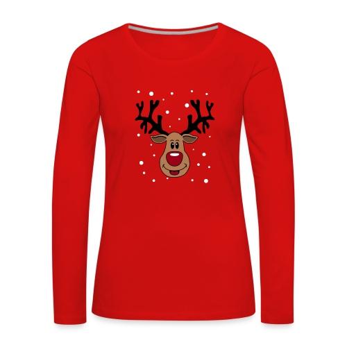 Rudolf 2 - T-shirt manches longues Premium Femme