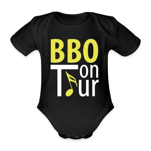 BBO-Baby On Tour Kurzarm - Baby Bio-Kurzarm-Body