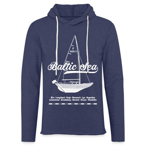 Folkeboot-Shirt - Leichtes Kapuzensweatshirt Unisex