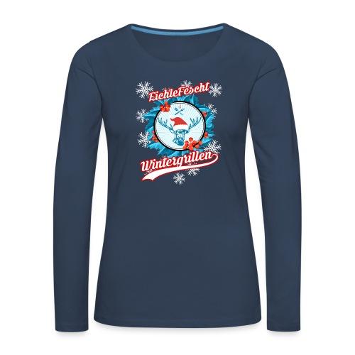 Das Damen Wintergill Long-T EichleFescht 2018 - Frauen Premium Langarmshirt