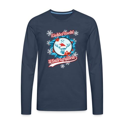 Das Herren Wintergill Long-T EichleFescht 2018 - Männer Premium Langarmshirt