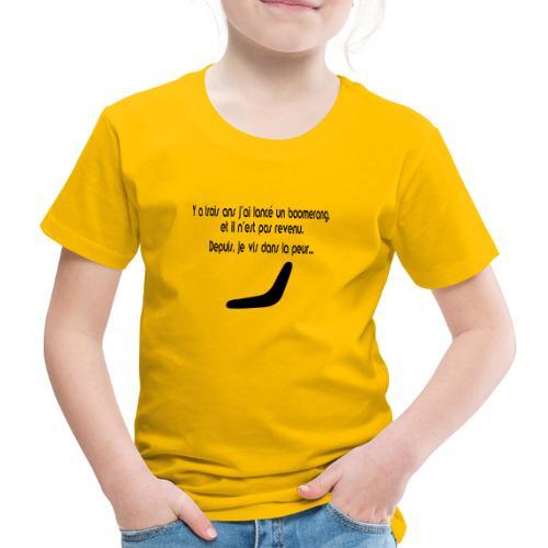 Boomerang - T-shirt Premium Enfant