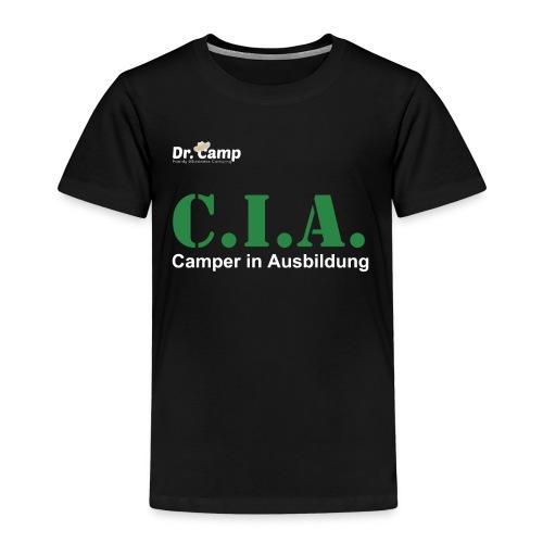 Dr. Camp Rundhalsshirt - CIA - Kinder Premium T-Shirt