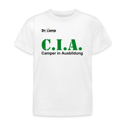 Dr. Camp Rundhalsshirt - CIA - Kinder T-Shirt
