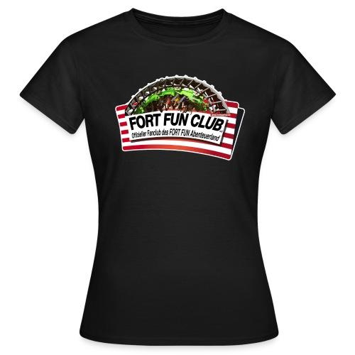 FORT FUN Club-Shirt - Frauen - Just Frontprint - Frauen T-Shirt