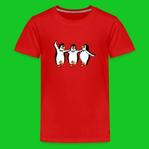 Pinguins teenager t-shirt - Teenager Premium T-shirt