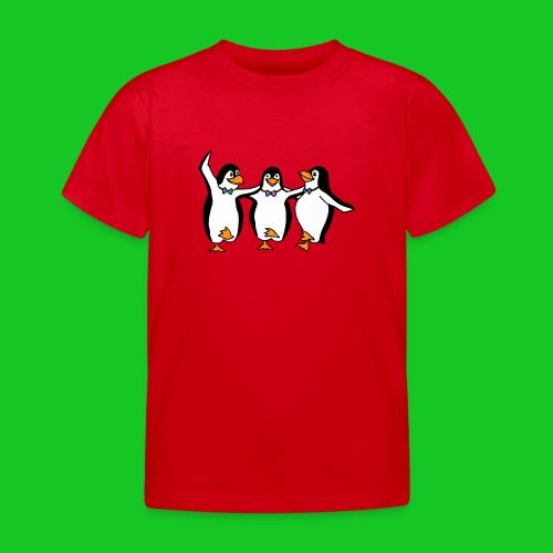 Pinguins kinder t-shirt - Kinderen T-shirt