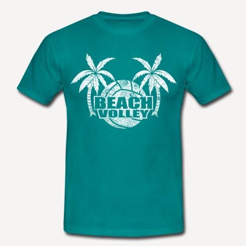 Beach volley Palms - Maglietta da uomo