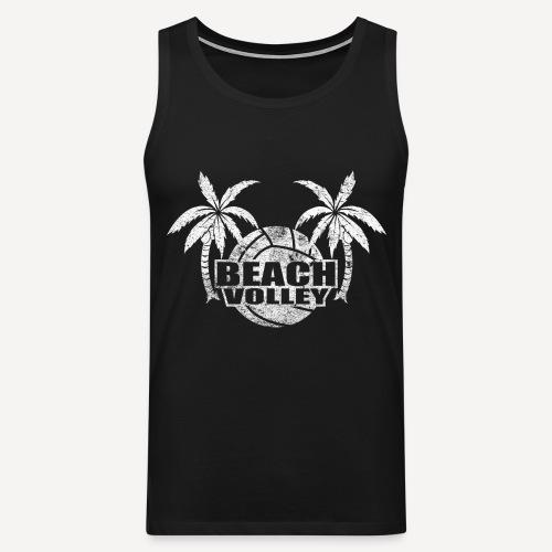 Beach volley Palms - Canotta premium da uomo