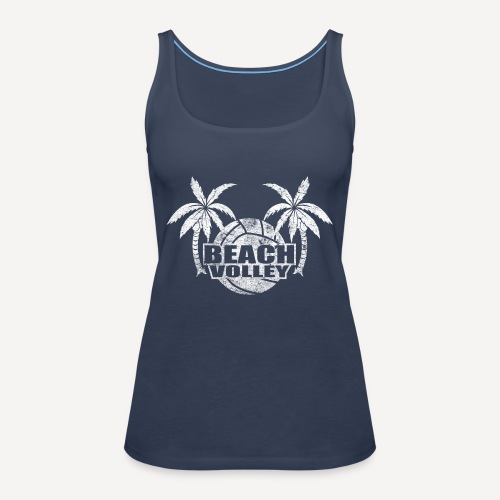 Beach volley Palms - Canotta premium da donna