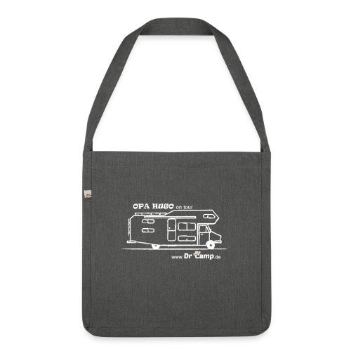 Recycling Tasche Logo Opa Hugo - Schultertasche aus Recycling-Material