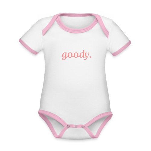 goody designbar. - Baby Bio-Kurzarm-Kontrastbody
