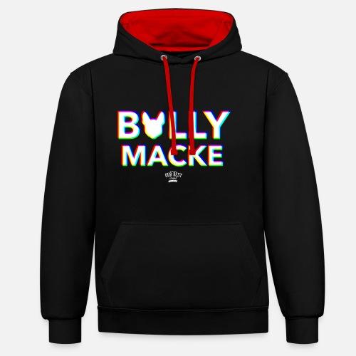 Bullymacke - Kontrast-Hoodie