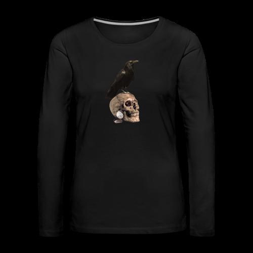 The Darkest Hour Women's Long Sleeve - Women's Premium Longsleeve Shirt