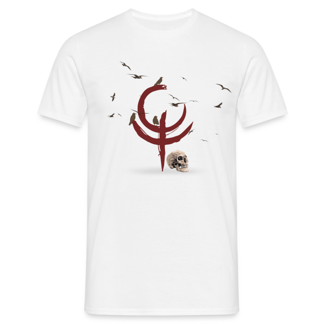 """The Darkest Hour"" Men's T-Shirt 2 White"
