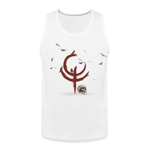 The Darkest Hour Men's Tank Top 2 White - Men's Premium Tank Top