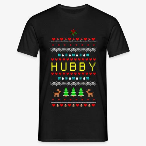 Männer T-Shirt Partnerlook Ugly Xmas 1 Mann - Männer T-Shirt
