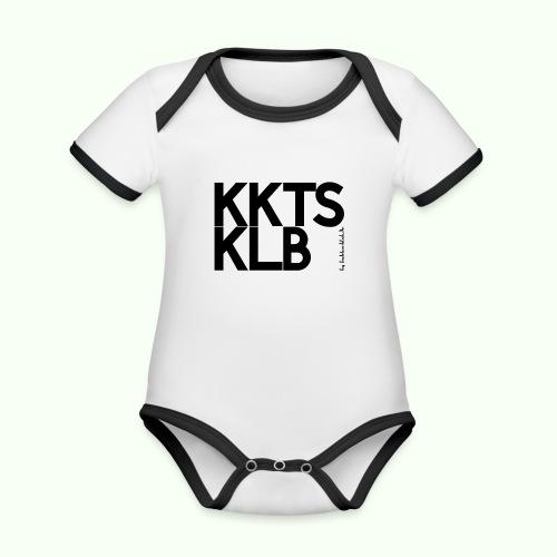 KKTS KLB Designer-Shirt - Baby Bio-Kurzarm-Kontrastbody