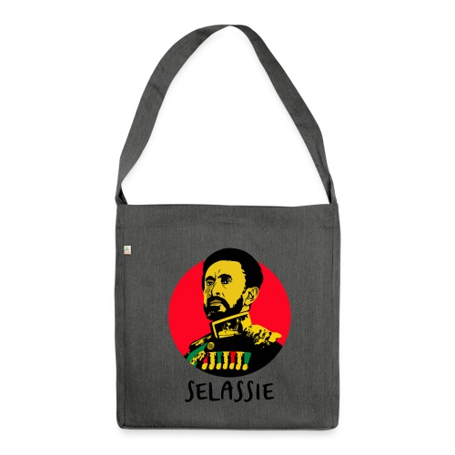 Haile Selassie I - Jah Rastafari - Bag - Schultertasche aus Recycling-Material